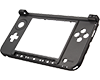 Middle Bottom Shell Black 3DS XL