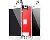 Touch Faceplate + LCD + Frame White iPhone 6S Plus